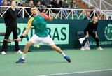 Lietuvos tenisininkams – dešimtys tūkstančių eurų paramos