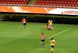 Agresija moterų futbole: Meksikoje parodytos 4 raudonos kortelės, įvyko futbolininkių peštynės