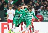"""Dešrelės į Brėmeną jau važiuoja: """"Werder"""" sutriuškino """"RB Leipzig"""" ekipą"""