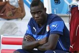 """S.Berlusconi: """"Ketinau M.Balotelli parduoti, bet kas dabar jį pirks?"""""""
