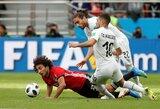 FIFA tiria, kodėl Urugvajaus ir Egipto rungtynėse nepasirodė 5000 bilietus turėjusių sirgalių
