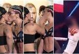 Moterų bokso įdomybės: prieš kovą – bučinys, po kovos – vidurinis pirštas