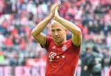 """A.Robbenas prisipažino galvojantis apie karjeros pabaigą: """"Lengviausia būtų tiesiog sustoti"""""""