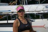 """Jaunoji irkluotoja V.Senkutė: """"Būtų kvaila nekovoti dėl vietos olimpinėse žaidynėse"""""""