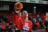 """Rungtynėse su """"Nevėžiu"""" – jaunojo Vilniaus talento šansas pagerinti J.Valančiūno rodiklį"""