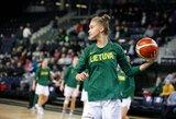 Moterų krepšinio rinktinės stovykloje – jaunos ir patyrusios krepšininkės