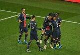 K.Mbappe pagerino L.Messi priklausiusį rekordą, o PSG iškovojo bilietą į Čempionų lygos ketvirtfinalį