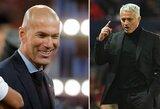 """R.Calderonas atskleidė priežastį, kodėl """"Real"""" pasirinko Z.Zidaną, o ne J.Mourinho"""