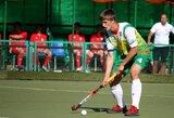 Europos jaunių žolės riedulio čempionate – Lietuvos vaikinų nesėkmė