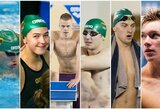 Europos plaukimo čempionato išvakarės: ne vieno aukso sieksiantis D.Rapšys ir S.Bilio šansas