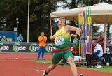 Lietuvos rinktinei nepavyko pakilti iš paskutinės vietos Europos lengvosios atletikos komandiniame čempionate