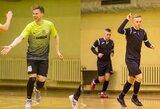 Futsal A lygoje - lemiama kova dėl kelialapio į atkrintamąsias varžybas