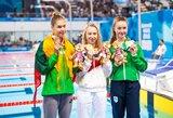 """Jaunimo olimpiados bronzą iškovojusi K.Teterevkova: """"Labai laiminga nesijaučiu"""""""