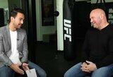 """UFC prezidentas: """"C.McGregoro ir D.Poirier kovą planuojame vasarą, joje neturėtų būti titulo"""""""