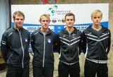 L.Grigelis ir L.Mugevičius pralaimėjo Slovėnijos duetui, o Lietuvos rinktinė iškrito į Daviso taurės Europos/Afrikos zonos II-ą grupę