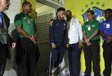 """Smūgis Brazilijos rinktinei: čiurnos traumą patyręs Neymaras praleis """"Copa America"""" turnyrą"""