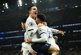 """Anglijoje po tris taškus įsirašė """"Tottenham"""" ir """"Leicester City"""""""