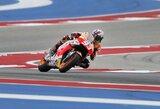 "M.Marquezas tolsta nuo persekiotojų ""MotoGP"" čempionate, V.Rossi krito nuo motociklo"