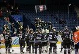 """""""Hockey Punks"""" penktą kartą įveikė iš paskutinės pozicijos nebepakilsiančius varžovus"""