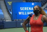"""S.Williams po rekordinės pergalės: """"Ne laikas galvoti apie rekordus – noriu laimėti turnyrą"""""""