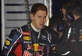 """S.Vettelis: """"Atsiliekame tiek kvalifikacijoje, tiek lenktynėse"""""""