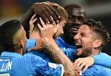 """""""Napoli"""" iškovojo septintąją pergalę Italijos čempionate"""