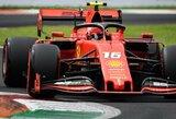 """Kuriozas Moncoje: per lėtai važiavę pilotai nespėjo pradėti paskutinio rato, C.Leclercui atiteko """"pole"""" pozicija"""