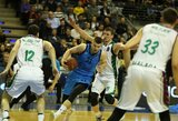 """21 taško pranašumą iššvaisčiusi ALBA Europos taurės pirmose ketvirtfinalio rungtynėse krito prieš """"Unicaja"""""""