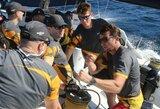 """""""Ambersail 2"""" kapitonas po incidento pirmojo starto metu: """"Pradžia sunki"""""""