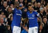 """T.Walcotto įvartis leido """"Everton"""" nugalėti """"Newcastle United"""""""