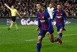 """Pirmasis P.Coutinho įvartis """"Barcelona"""" ekipoje paženklintas pergale """"Copa del Rey"""" pusfinalyje"""