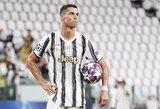 C.Ronaldo pavargo Turine: svarstomos galimybės keltis į Paryžių?