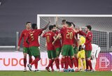 Pasaulio čempionato atrankoje – minimali Portugalijos rinktinės pergalė