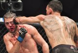 Gerokai B.Ortegos akį sutalžęs M.Holloway išsaugojo UFC čempiono titulą