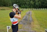 Lietuvos biatlonininkai skynė medalius atvirajame Baltarusijos čempionate