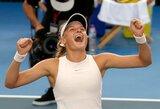 Sensacija Honkonge: 18-metė ukrainietė laimėjo WTA serijos turnyro finalą