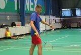 """Babolat Riga Open"" badmintono turnyre – P.Bartušio triumfas"