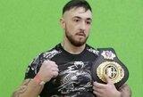 P.Dailidko MMA narve iškovojo trečią pergalę iš eilės