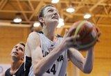 Tarp penkių naudingiausių Europos jaunių čempionato žaidėjų – du lietuviai