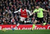"""""""Arsenal"""" toliau sprendžia problemas: vėl prarado taškus"""