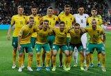 FIFA reitinguose Lietuva išlaikė pozicijas: kovoja su Ruanda, Komorais ir Tanzanija