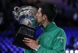 4 valandų finale – rekordinis N.Djokovičiaus triumfas