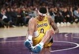 """""""Lakers"""" kurį laiką versis be K.Kuzma"""