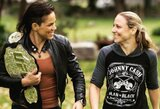 A.Nunes ir N.Ansaroff meilės istorija, kuri stos į kovą prieš vieną geriausių istorijoje moterų MMA kovotojų