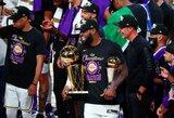 """Lakers"" su dominavusiu L.Jamesu tapo NBA čempione"