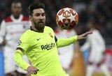 """E.Valverde negaili pagyrų ir vėl puikiai žaidusiam L.Messi: """"Jis buvo nepakartojamas"""""""