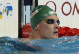 M.Sadauskas plaukimo varžybose Prancūzijoje pateko į A finalą, G.Titenis liko už borto