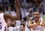 """""""Thunder"""" lyderiai ir toliau žaidžia nesulaikomai, o komanda iškovojo dar vieną pergalę"""