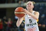 Lietuvos moterų rinktinė dar kartą susitvarkė su baltarusėmis