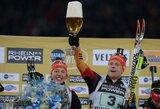 Tradicinėse mišrių komandų biatlono varžybose Vokietijoje – šeimininkų triumfas